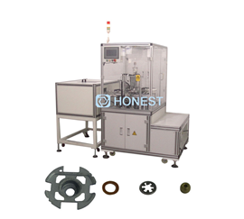 Motor Shell Plate Assembly Machine